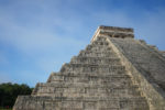Close up look of Chicen Itza